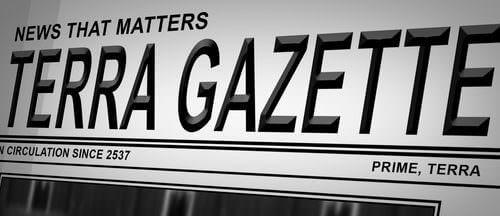 Terra Gazette: Crusader Ammette l'Aumento della Criminalità
